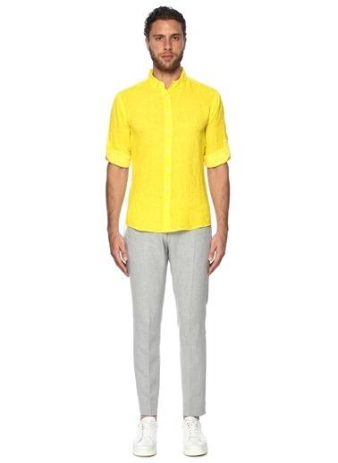 Que Gömlek Sarı